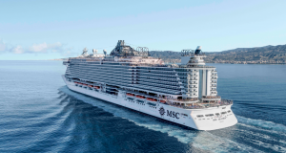 Cruzeiro Rumo a Salvador – MSC Seaside