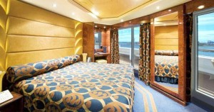 Aurea Suite com vista panorâmica e janela selada Imagem representativa da Classe Fantasia
