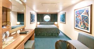Cabine com Vista para o Mar Imagem representativa da Classe Fantasia