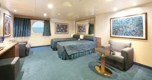 Cabine com vista para o mar para pessoas com deficiência física Imagem representativa da Classe Fantasia