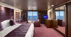 MSC Yacht Club Suíte Deluxe Imagem representativa da Classe Fantasia
