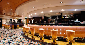 Golden bar - MSC Musica